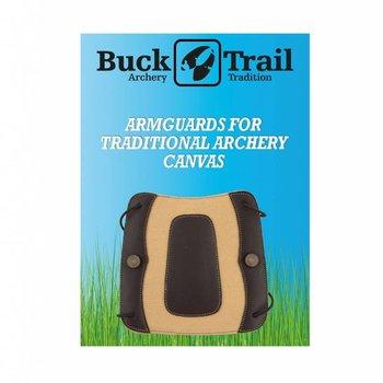 Buck Trail Armschutz CANVAS 18cm CANVAS WITH BROWN OVERLAY