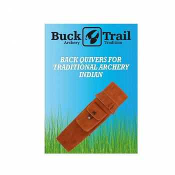 Buck Trail INDIAN BROWN AMBIDEXTROUS SUEDE 52cm