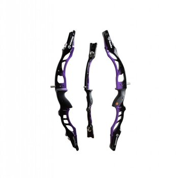 "Kinetic Kinetic Halo 25"" RH BLACK-PURPLE"