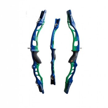"Kinetic Kinetic Halo 25"" RH BLUE-GREEN"