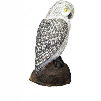 SRT OWL SCREECH WHITE - GROUP 4 - L23cm H40cm