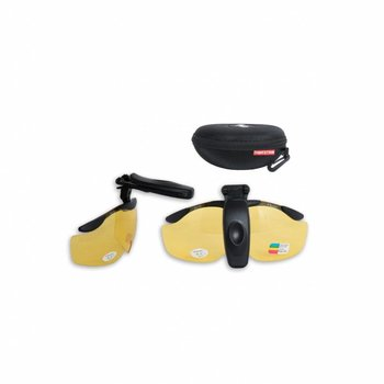 HAT CLIP MIT FARBE LINSEN POLARIZED YELLOW