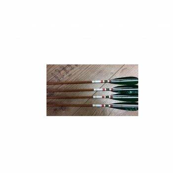 SkyArt Archery. Wood Grain Extra-Slim Carbon Fiber Arrows ID 4,2 mm