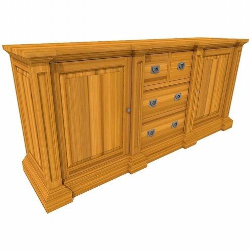 GEORGE sideboard 2 doors, 4 drawers