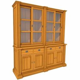 Showcase GEORGE eight doors, 4 drawers