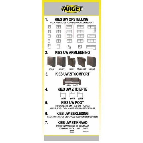 Target Bank Flexi 2,5-zits