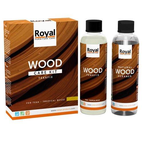 Oranje Furniture care Teakfix Wood Care Kit