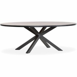 Lamulux Oval Table SCARLET