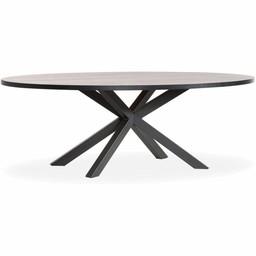 Lamulux Ovaler Tisch SCARLET