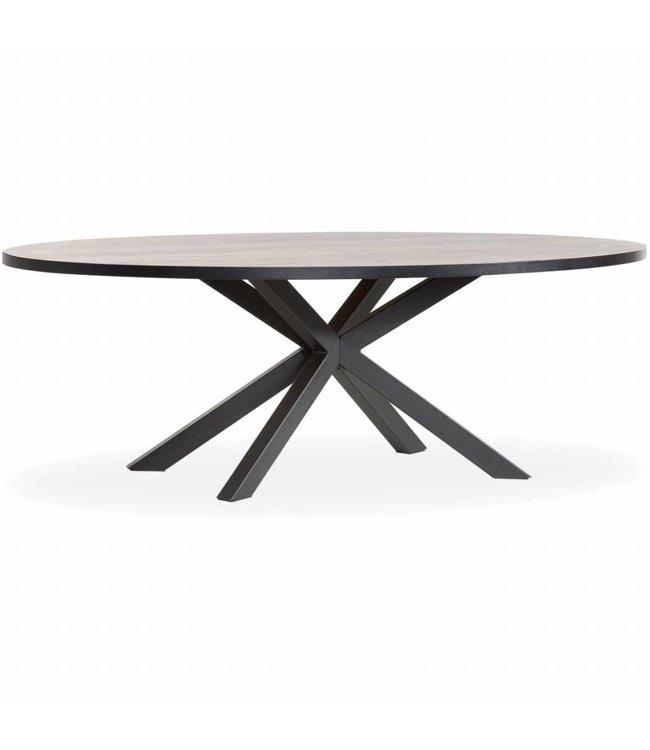 Lamulux Oval Table SCARLET