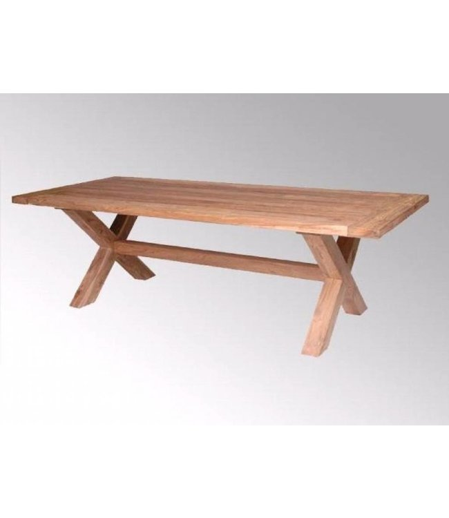 Decomeubel Cross leg Table LYON