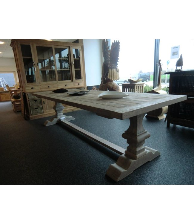 All in House Garantie KVS Kloostertafel RECYCLED TEAK