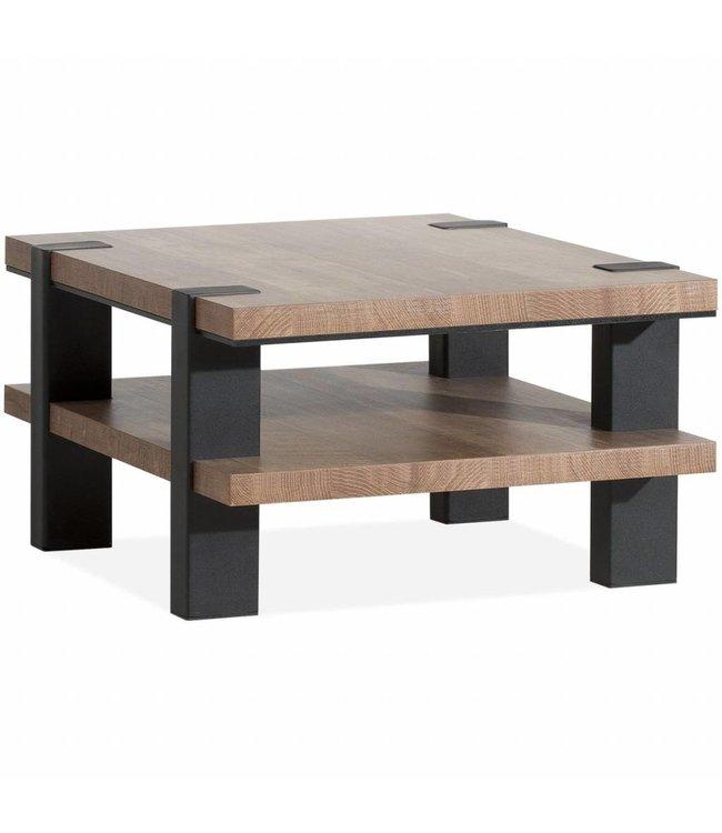 Lamulux Corner table Binck - Lamulux Old Teak