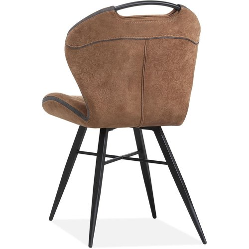 MX Sofa Eetkamerstoel Splash luxor - kleur: Cognac