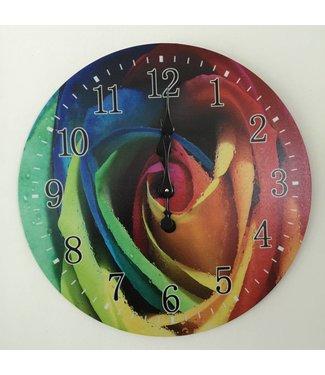 Clock multicolour
