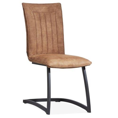 MX Sofa Amara Stuhl mit freischwingender Basis in 3 Farben erhältlich