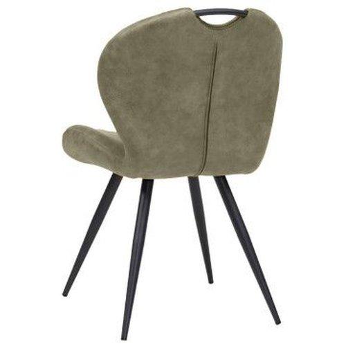 MX Sofa Esszimmerstuhl Wunderfarbe: Oliv 2er Set