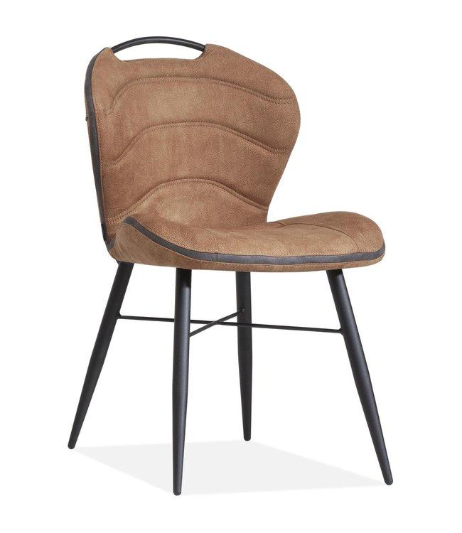 MX Sofa Esszimmerstuhl Talent Luxor Farbe: Cognac