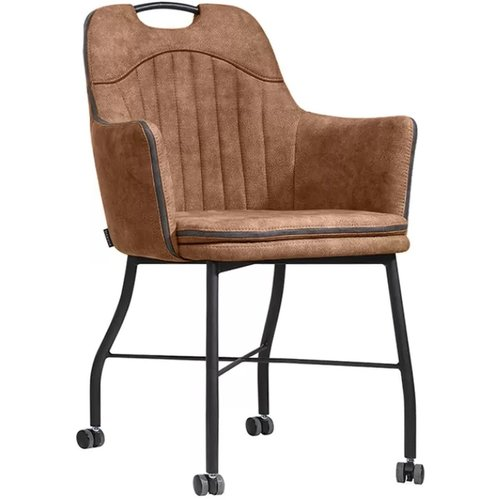 MX Sofa Floria chair with wheels, available in 4 colors