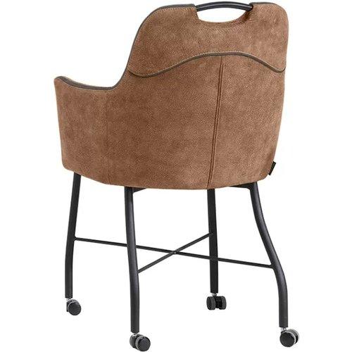 MX Sofa Floria Stuhl mit Rädern, erhältlich in 4 Farben