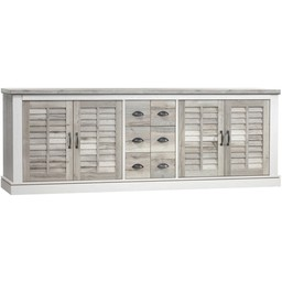 Lamulux Sideboard DENZEL 4 doors, 3 drawers