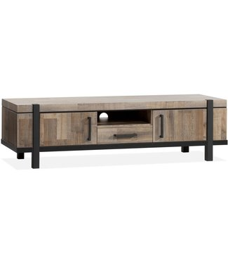 Lamulux TV Cabinet EXPO 2 doors, 1 drawer, 1 open compartment