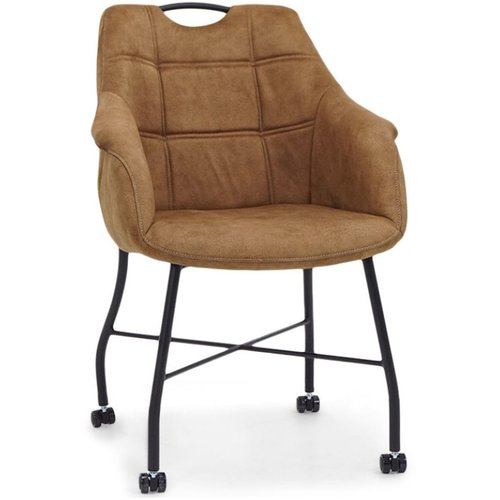 MX Sofa Chair Promise with wheels, metal base