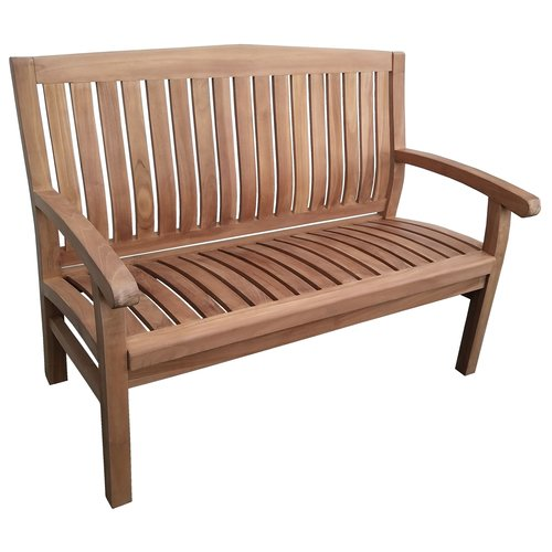 Decomeubel Kingston Teak Gartenbank 120cm