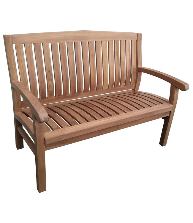 Decomeubel Kingston teak tuinbank 120cm