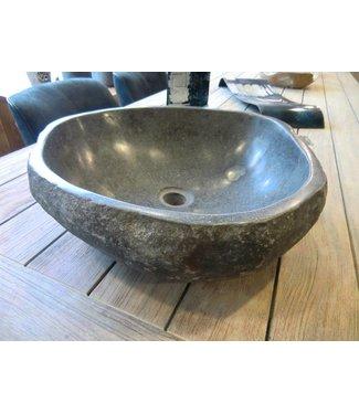 Wash basin riverstone