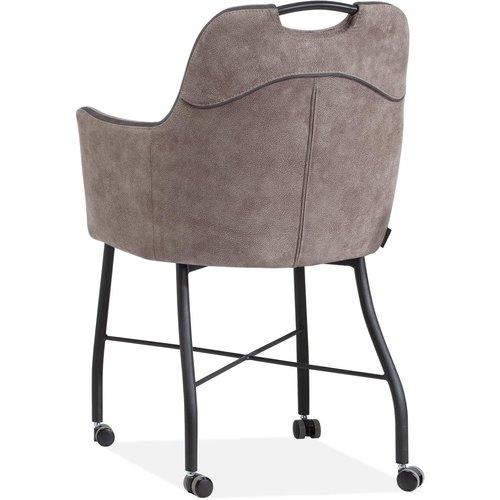 MX Sofa Stuhl Floria mit Rädern, erhältlich in 4 Farben