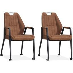 MX Sofa MX Sofa Chair Axa (set of 2 pieces)