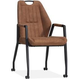 MX Sofa MX Sofa Chair Axa - color Cognac (set of 2 pieces)