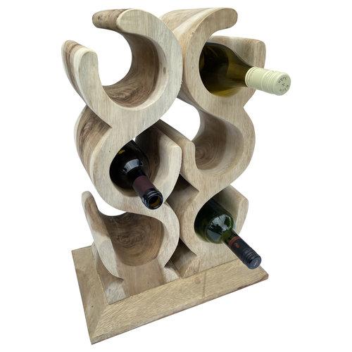 Weinregal LIEBE für 6 Weinflaschen