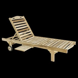 Decomeubel Lounger TEAK