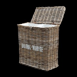 Decomeubel Deco Furniture Rattan laundry basket