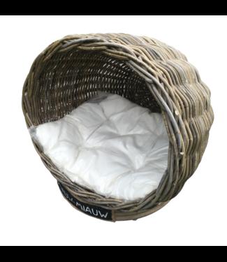 Decomeubel DecoFurniture Cat basket IGLO with cushion