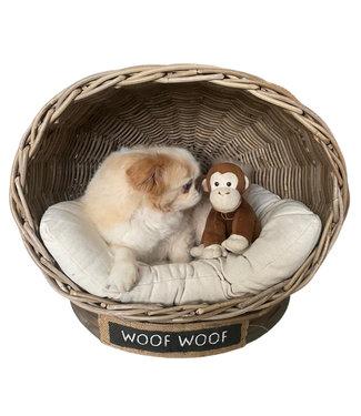 Decomeubel Hundebett IGLO mit Kissen