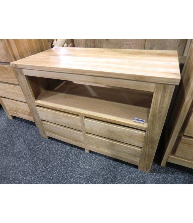Eastfurn TV cabinet Singaraja 4 drawers, 1 open compartment