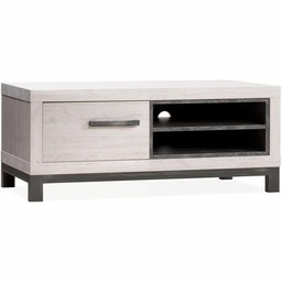 Lamulux TV cabinet Next 1 door, 2 open compartments