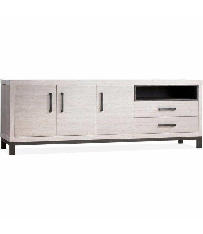 Lamulux Sideboard Next 3 doors, 2 drawers, 1 open compartment