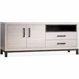 Lamulux Dresser Next 2 Türen, 2 Schubladen, 1 offenes Fach