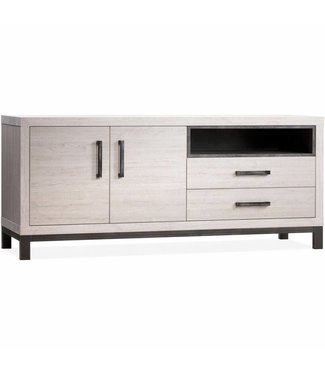 Lamulux Sideboard Next 2 doors, 2 drawers, 1 open compartment
