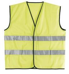 ♣ Gecertificeerde gele veiligheidshesjes met reflecterende strepen