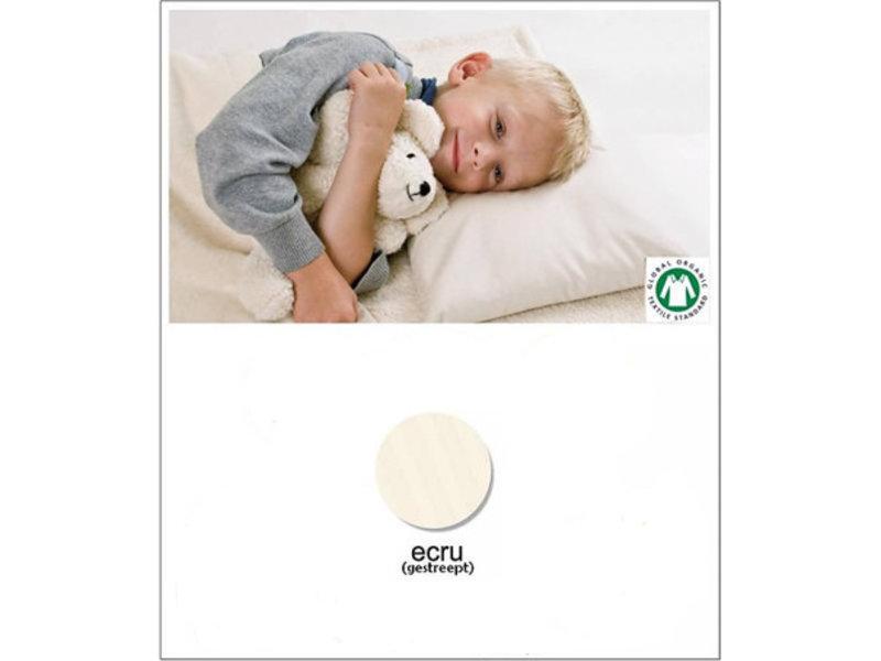 Mudis Mudis® kinderkussen met diverse kussenvullingen, inclusief kussensloop in kleur. Afmeting 40x60.