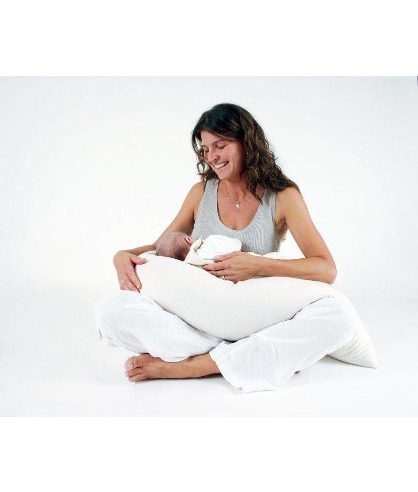 Mudis Zwangerschapskussen 150x30, diverse kussenvullingen.