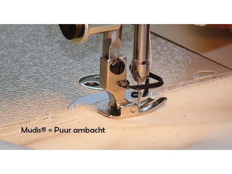 Mudis Mudis® kussensloop 50x50, Bio katoen satijn-gestreept.