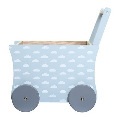 Bloomingville mini Bloomingville mini loopwagen boys