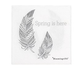 Bloomingville Bloomingville napkins Spring is here