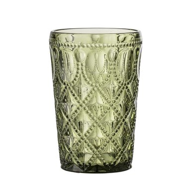 Bloomingville Bloomingville drinkglas Groen